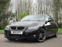 2011 BMW 3 Series 2.0 320d M Sport Convertible 2dr Diesel Manual (135 g/km,