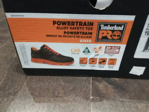 Timberland Powertrain safety shoes. 2 weeks use.