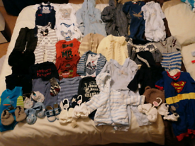 3-9 month 40+ piece baby bundle