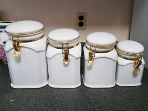 Set of 4 canisters
