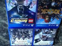 assassin's creed black flag et unity, Lego Batman 3 et knack