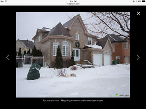 Gorgeous 5-bedroom house with inground pool in Pierrefonds West