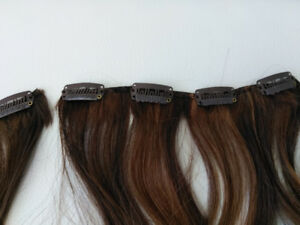 Clip in hair extensions - like new