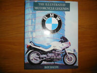 BMW The Illustrated Motorcycle Legends Book by Roy Bacon