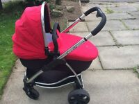 ICandy Stawberry pram and pushchair