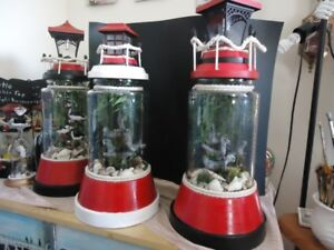 solar and battery lighthouses
