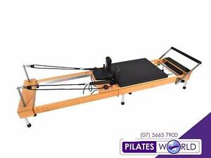 Best Deluxe Foldable | Pilates Reformer | Beechwood | QUALITY Brisbane City Brisbane North West Preview