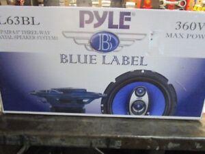 car speakers 6.5 inch 360 watts