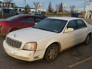 2003 Cadillac DeVille Sedan for Parts or Mechanic 2000obo
