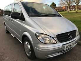 MERCEDES BENZ VITO 111 2.2 CDI EXTRA LWB AUTOMATIC (2006) E/RAMP + 1 OWNER