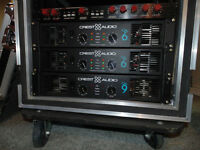 Crest CA power amps