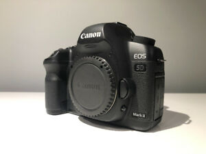 Canon 5D MKii with canon battery grip and 2 batteries