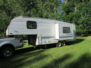 """For Sale"" 1997 Prowler 5th Wheel Trailer with Slide Out"