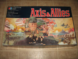 Axis And Allies WWII Board Game
