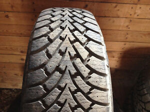 4 Goodyear Winter tires 225/ 65R 17 excellent condition