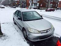 Honda Civic Berline 2004 à vendre !!