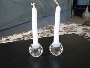 "Swarovski Crystal Figurines - "" Candle Holders "" Kitchener / Waterloo Kitchener Area image 1"