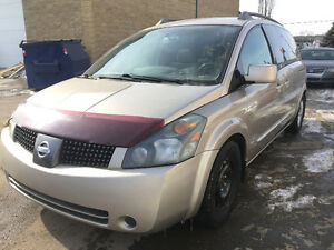 2004 Nissan Quest SL7 Passanger 234000 km fully detail inspected