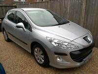2008 Peugeot 308 1.6HDi S Diesel 70K FSH £30 RFL Excellent Condition