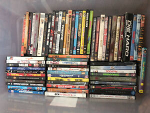 DVD collection (over 65 in all)  for cheap!