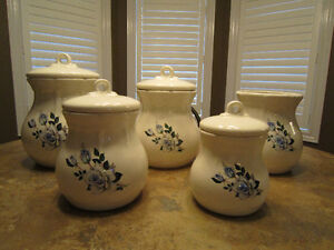 Kitchen Canister Set-Ceramic