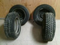 15 inch tires and rims for sale