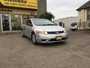 2006 Honda Civic Coupe (2 door) Kitchener / Waterloo Kitchener Area image 2
