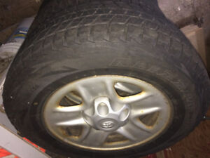 Tires and Rims 255/70/18