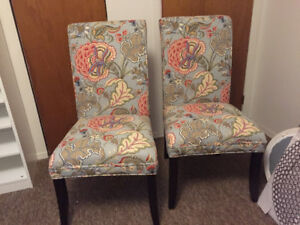 Beautiful Pier 1 chairs