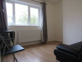 1 Double room to rent in a 1 bed flat, fully furnished,decorated 2 mins walk to DLR All Bills inc.