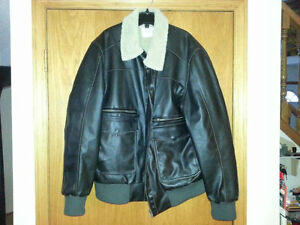 leather bomber jacket buy or sell clothing for in