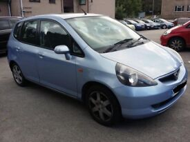 2003 HONDA JAZZ 1.4 PETROL IN ICE BLUE BREAKING FOR PARTS MANUAL