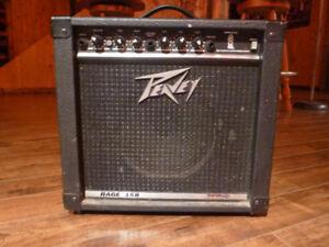 Peavey Rage 158 15-Watt 1x8 Guitar Combo Amp
