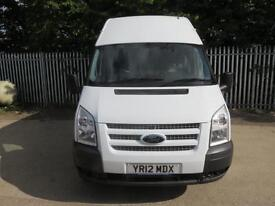 FORD TRANSIT 350 LWB HIGH ROOF DOUBLECAB CREWVAN 100 BHP 6 SEATS