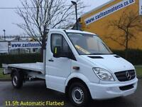 2008/ 58 Mercedes Sprinter 311Cdi 11.5ft Flatbed / Pickup Low mileage Automatic