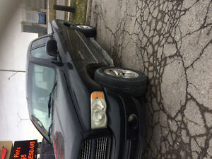 2002 Dodge Power Ram 1500 Black Pickup Truck