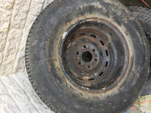 1 BF Goodrich Radial Long Trail T/A - LOTS of Tread left