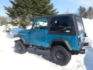 95 jeep rebuilt over 5000 invested
