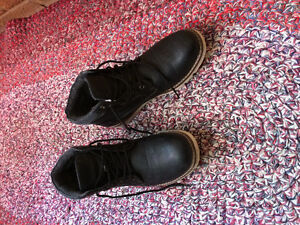 Men's black Casual boots