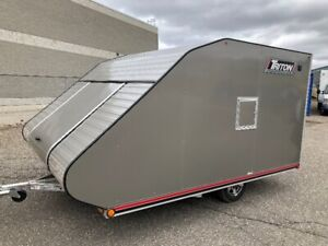 2019 Triton TC118 Low Rider enclosed snowmobile trailer