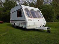 Eccles Jade 2 Berth End Kitchen Lightweight Touring Caravan