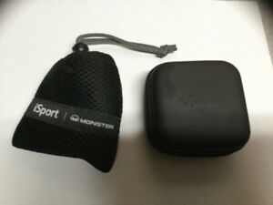 Écouteur sans fil iSport Monster et module avion