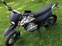 2012 xtr200x dual purpose street legal and registered