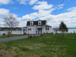 Eastern Shore!238 ft. Waterfront,Lovely Home/Year Round Cottage