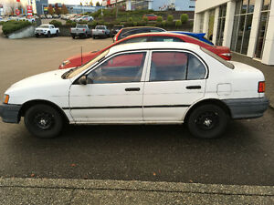 1991 Toyota Tercel  Automatic Low 123XXX km