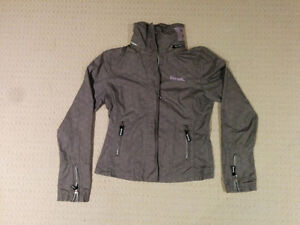 Womens Bench Jacket Grey