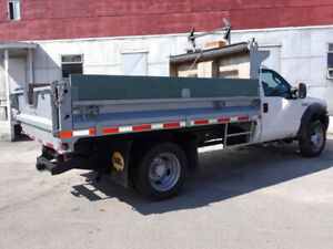 REDUCED 2005 FORD F450 DUMP TRUCK AUTOMATIC