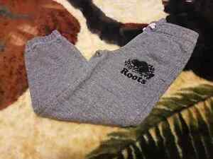 Roots salt and pepper sweatpants for boys 5T