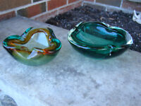 Two Gorgeous Vintage Murano glass pieces
