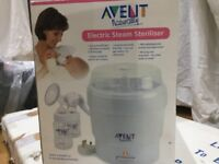 Advent electric steam steriliser